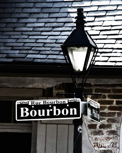 Amazon Com New Orleans French Quarter Bourbon Street Sign And