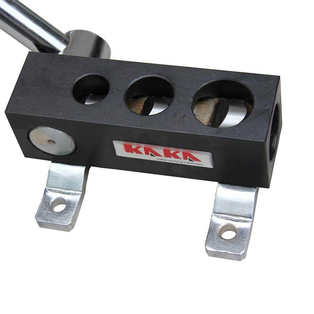 KAKA RA-2 Manual Tube Notcher, 3/4'', 1'', 1-1/4'' Light Weight, High Precision Tubing Notcher by KAKA INDUSTRIAL