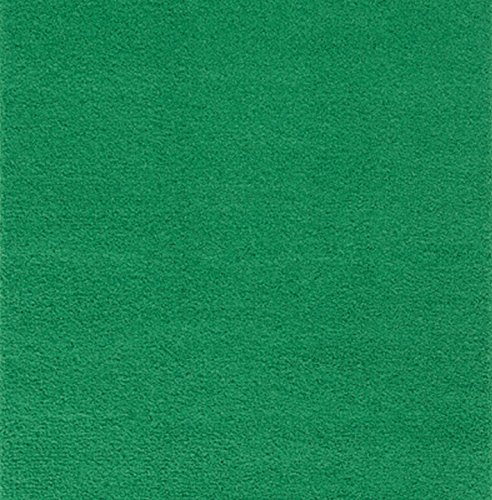 Ambiant Pet Friendly Solid Color Forest Green 5' Square - Area Rug - Forest Square Rug