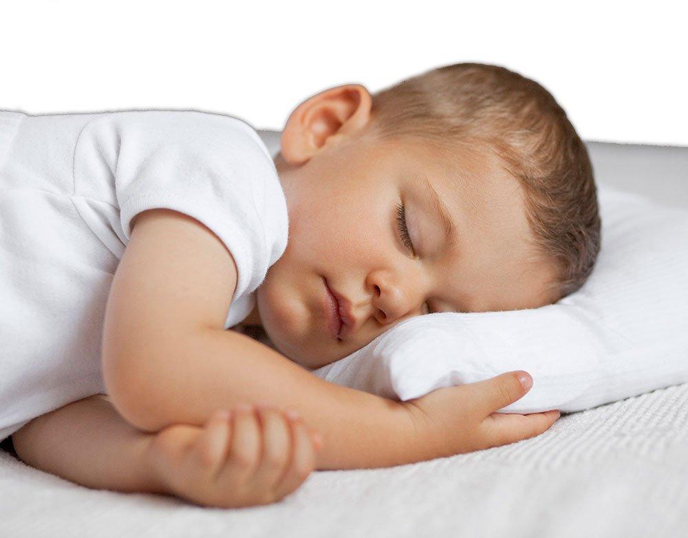 Cuscino in lattice per bambino, 30x 40cm, multi-perforato e zigrinato antiacaro e anallergico 30x 40cm Pure Latex Wave