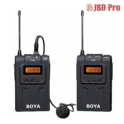 Jsd Pro Boya By Wm6 Lapel Microphone For Smart Phone Amazonin