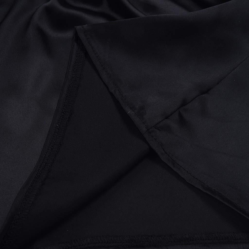 Goosuny Damen Zweiteiliger Nachtw/äsche Spitze Tr/äger Nachthemd /Ärmellos V-Ausschnitt Tops Und Shorts Kurz Schlafanzug Sommer Pyjama Negligee W/äsche Set Shorty