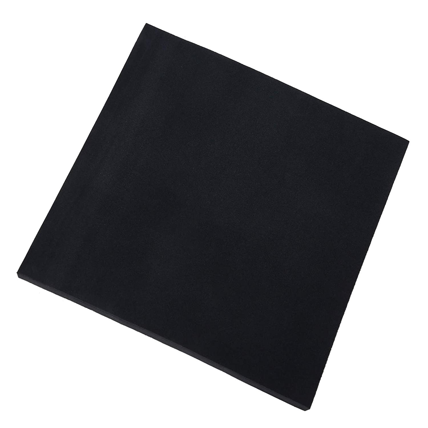 Silicone Rubber Sheet,Heary Duty,Grade 60A,12x12-Inch by 1/8