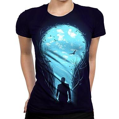 Amazon com: On Cue Apparel Brightside Womens T-Shirt: Clothing