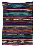 Tribal Tablecloth Striped Retro Aztec Pa