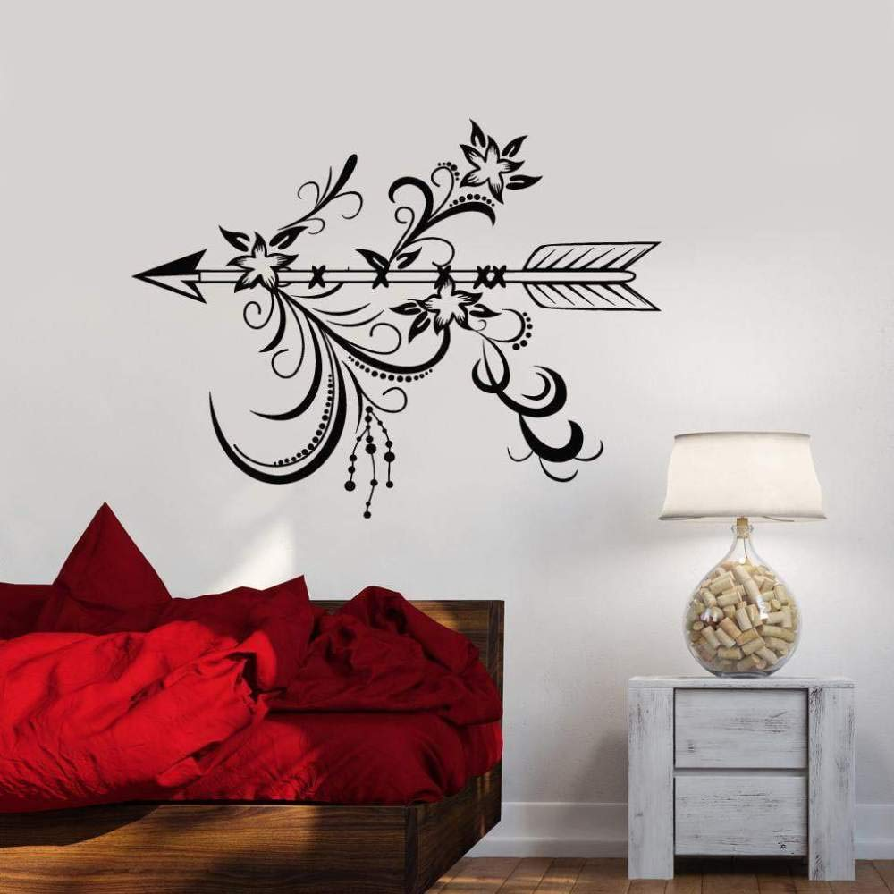 haotong11 Vinilo Tatuajes de Pared Flecha Dormitorio Sala de Estar ...