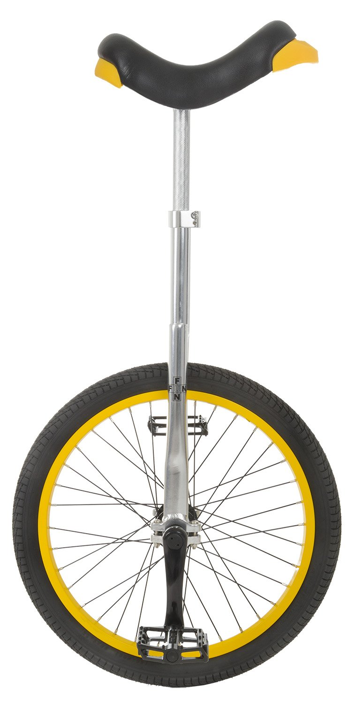 Fun 20 Inch Wheel Pro Aluminum Chrome Unicycle by Fun