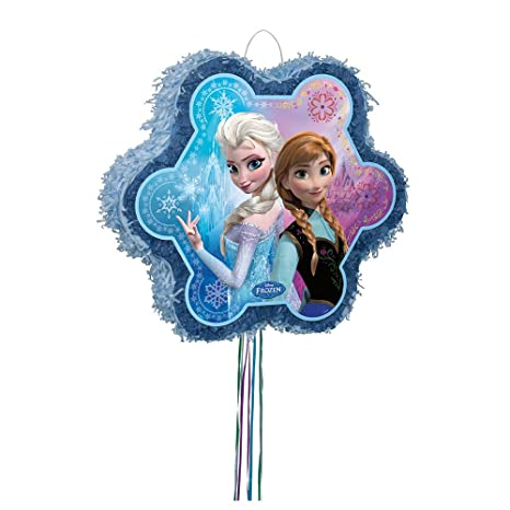 Unique Snowflake Disney Frozen Pinata Pull String  sc 1 st  Amazon.com & Amazon.com: Unique Snowflake Disney Frozen Pinata Pull String: Toys ...