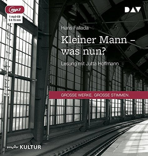 Kleiner Mann - was nun?: Lesung mit Jutta Hoffmann (1 mp3-CD)