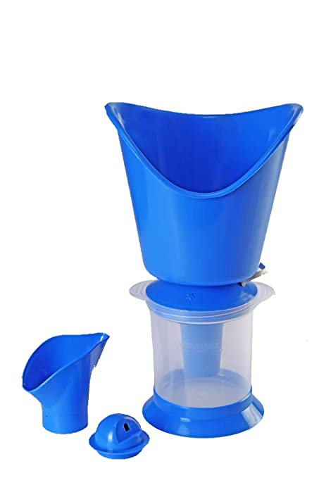 MCP Vaporizer, Facial Sauna and Nose Steamer 3 In 1 Steam Inhaler (Blue):  Amazon.in: Health & Personal Care