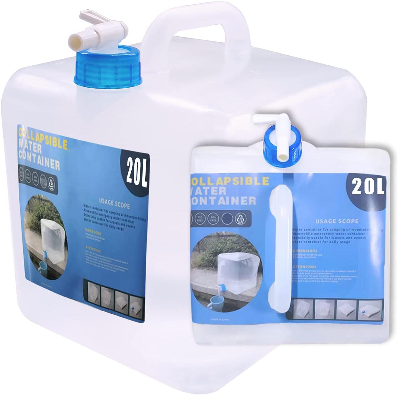 Environmental-friendly Water Bucket Outdoor Camping Water Dispensing Bottle