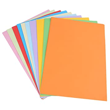 100pcs Color Copy Paper Origami Colored Printer Paper Making