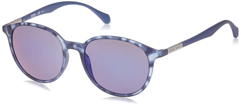 Hugo Boss Boss 0822/S XT YX2 Gafas de sol, Azul (Bluette Havana/Blue Sky Grey Speckled), 53 Unisex-Adulto
