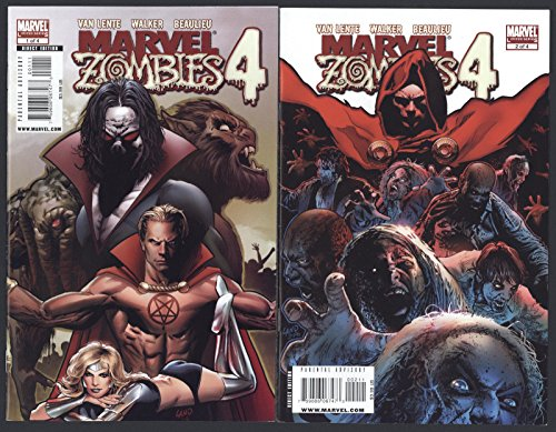Marvel Zombies 4 #1-4 Near Mint Complete Set Full Run Marvel Comics 2009 CBX1E