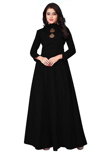 4e674c17af7c Leriya Fashion Women s Gown Type Full Sleeve Ankle Length Anarkali ...