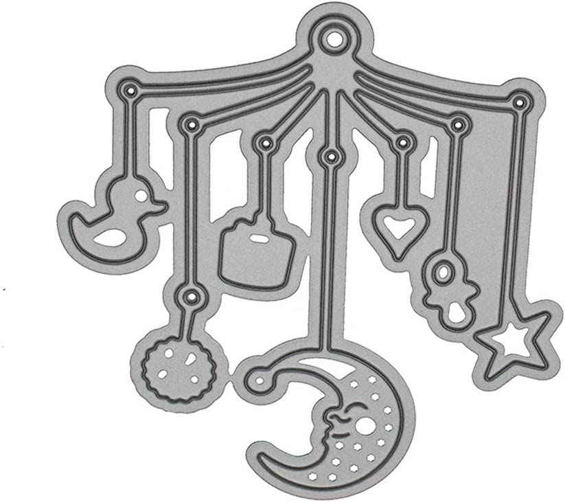 BABY Bed Bell Metal Cutting Dies Stencil For DIY Scrapbooking Paper Card Craft