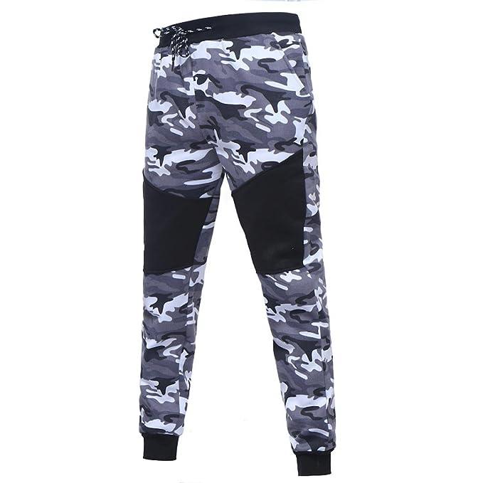 Chándal de otoño invierno hombres Amlaiworld Hombres Compresión Leggings Camuflaje Polainas Apretadas Larga Deportes Pantalones: Amazon.es: Deportes y aire ...