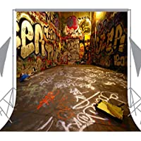 Ouyida Graffiti space 10x 10 CP Photography Background Computer-Printed Vinyl Backdrop TA25