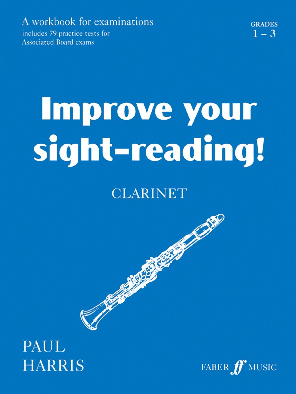 improve your sight reading clarinet grade amazon co uk paul improve your sight reading clarinet grade 1 3 amazon co uk paul harris 9780571514649 books