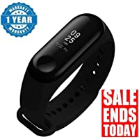 Captcha M3 Band Bluetooth 4.0 Sweatproof Smart & Sleek Fitness Wristband with Heart Rate Monitor Tracker