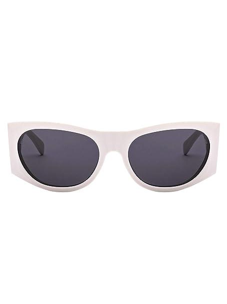 Céline Mujer Cl40029i21a Blanco Acetato Gafas De Sol: Amazon ...