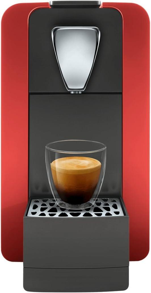 /Cafetera de c/ápsulas para el sistema Cremesso suizo Cremesso Compact One II Glossy Red/