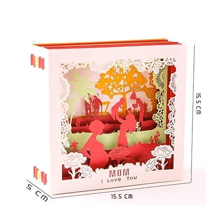 Nuevas tarjetas 3d Tarjeta de regalos del día de la madre I ...