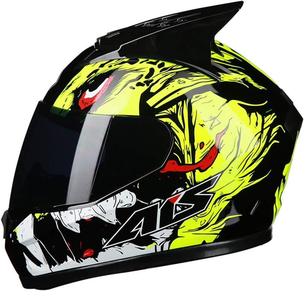 IUYWL フルヘルメットカバー機関車ヘルメット、ワンピースアダルトヘルメット、サイクリングマウンテンバイクヘルメット ヘルメット (Color : B, Size : 59-62cm) B 59-62cm
