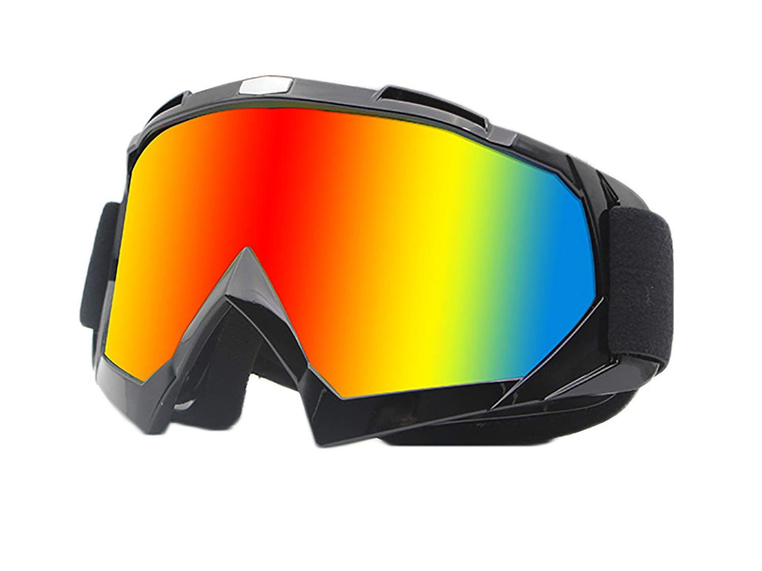 June Sports UV Protective Outdoor Glasses Motorcycle Goggles Motorcross Safety Glasses Dirtbike Skiing Snowboard Dust-Proof Protective Combat Goggles Outdoor Tactical Goggles Anti Fog KG20