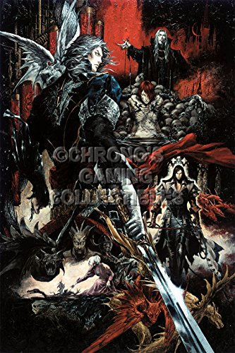 CGC Huge Poster - Castlevania Curse of Darkness Sony PS2 - CAS007 (24