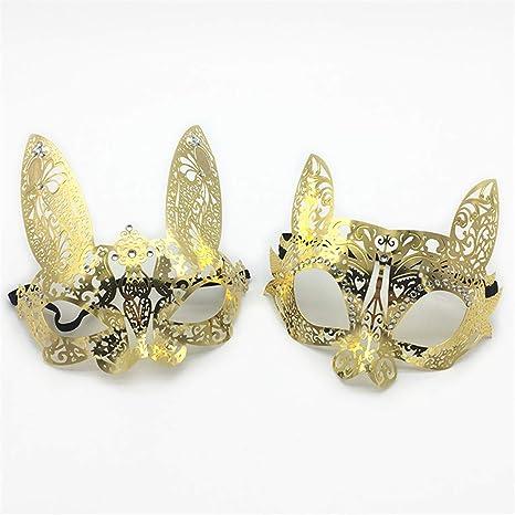 VJUKUBCUTE Pack De 2 Mujeres Atractivas De Oro Gato Y Conejo ...