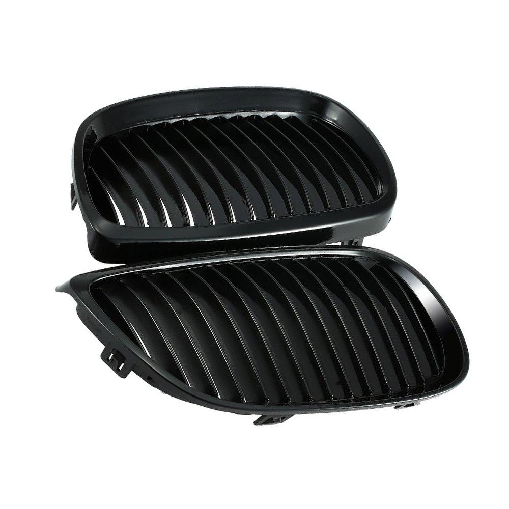 Rene griglie anteriore griglia dettagli per griglie 3 Series E92 E93 due porte 06 –  09 griglia nero brillante opaco nero griglia griglia del Rene griglie RGAta