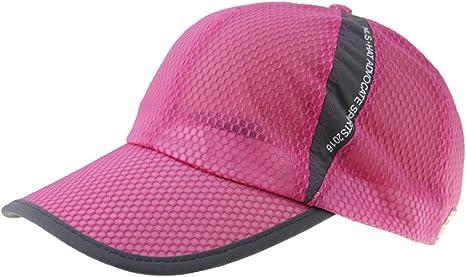 Gorra protección solar adultos anti-UV gorra béisbol protección ...