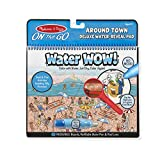 Melissa & Doug On the Go Water Wow! Reusable Water-Reveal Deluxe Activity Pad – Around Town