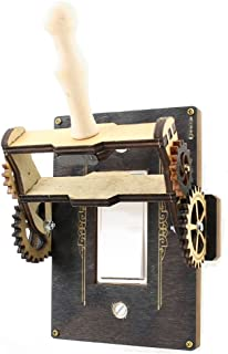 product image for Green Tree Jewelry Steampunk Decora Rocker Throw Switch Black Wood Light Switch Plate Cover