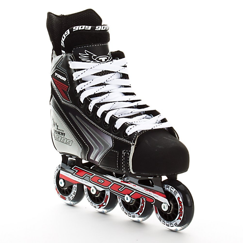amazon com tour hockey thor 909 inline hockey skates 05
