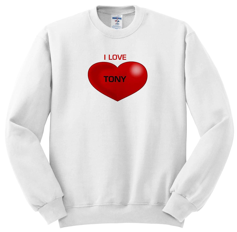 I Love Heart Tony Sweatshirt