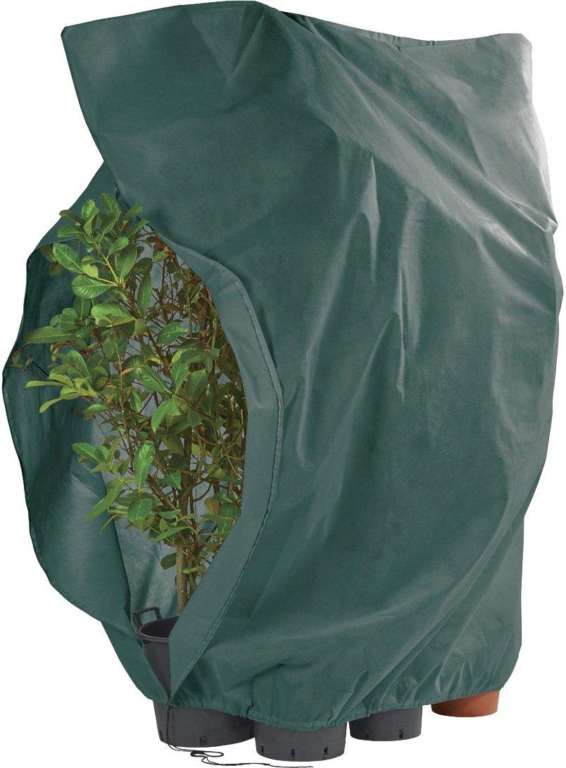 ca FLORABEST/® XXL Pflanzen-Frostschutzvlies mit Rei/ßverschluss und Kordelzug sand 2,40 x 2,00 m