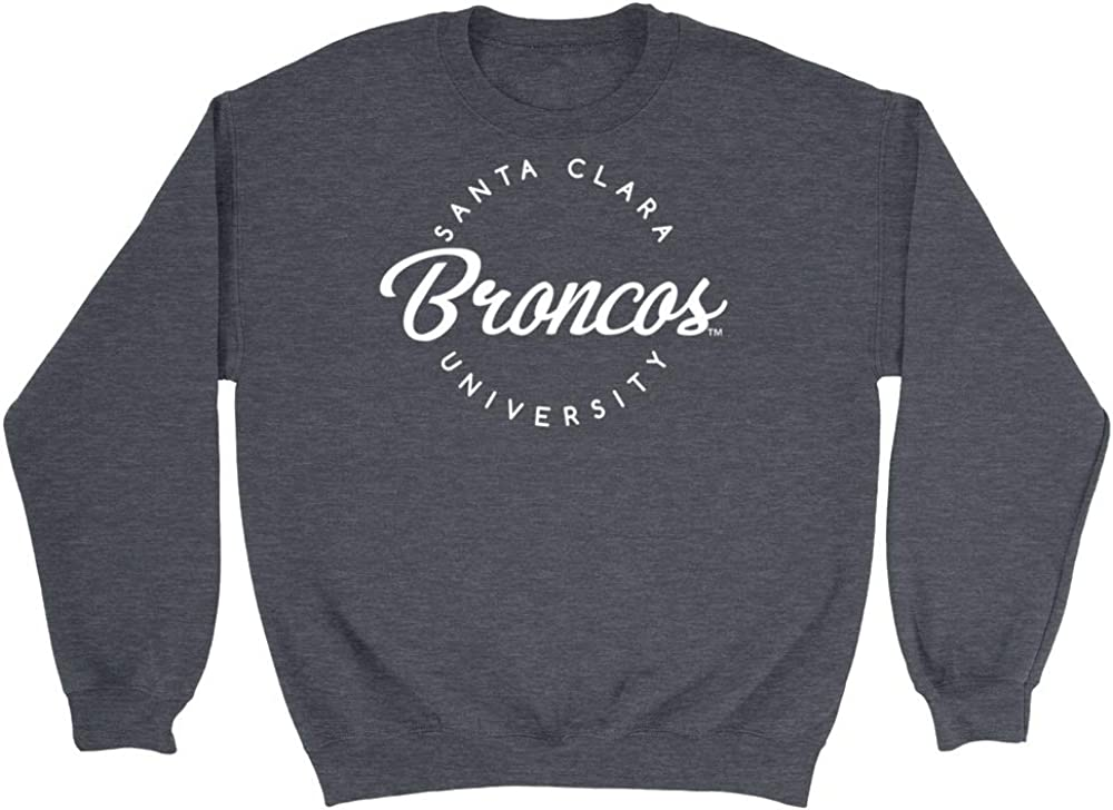 NCAA Santa Clara Broncos RYLSCU04 Mens//Womens Boyfriend Sweatshirt