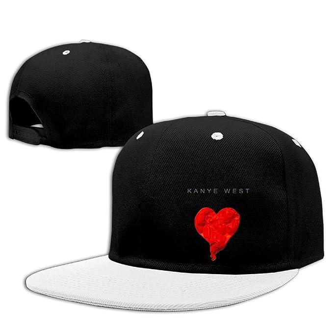 6af74934 Flat Bill Kanye West 808s Heartbreak Printing Cherished Baseball Cap ...