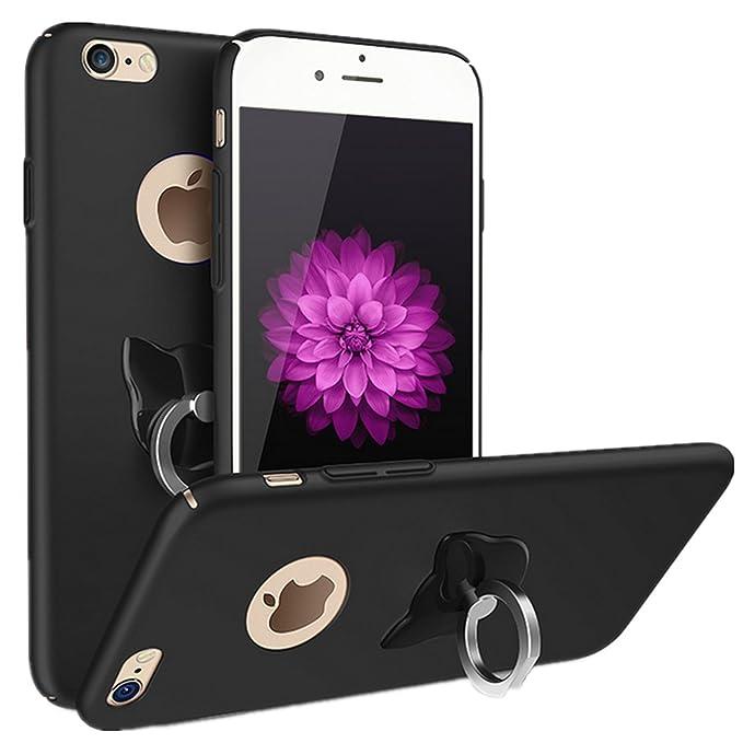 9d711e3912b Teryei Funda iPhone 6 plus/6s plus 5.5 pulgadas 360 grados giratorio anillo  alta calidad