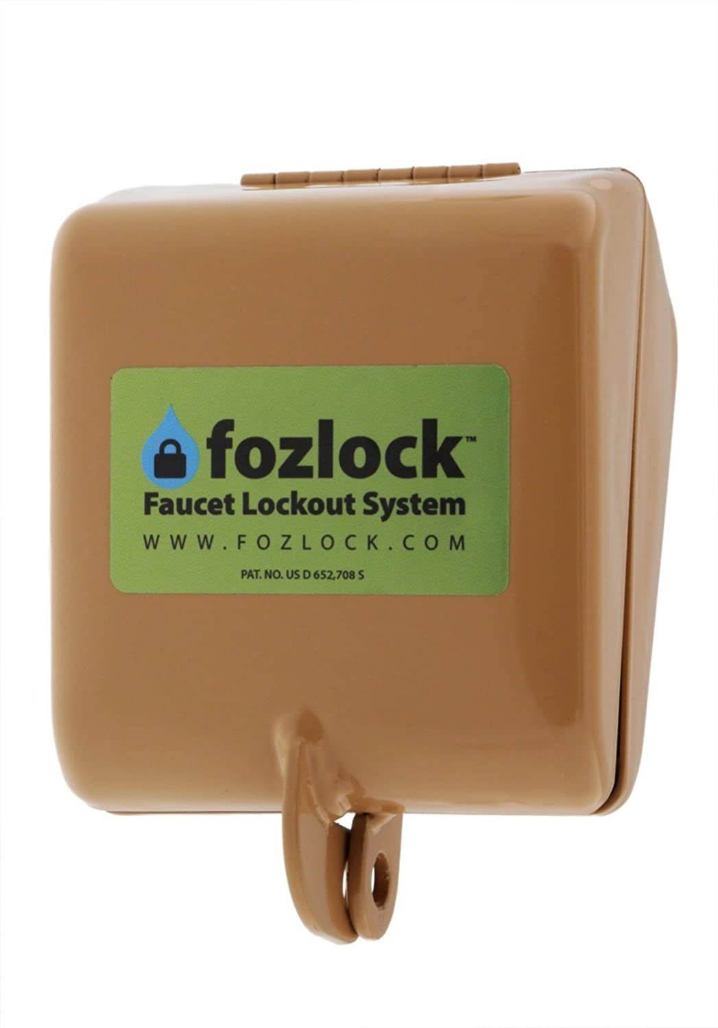 amazon com fozlock outdoor hose bibb faucet lock garden u0026 outdoor