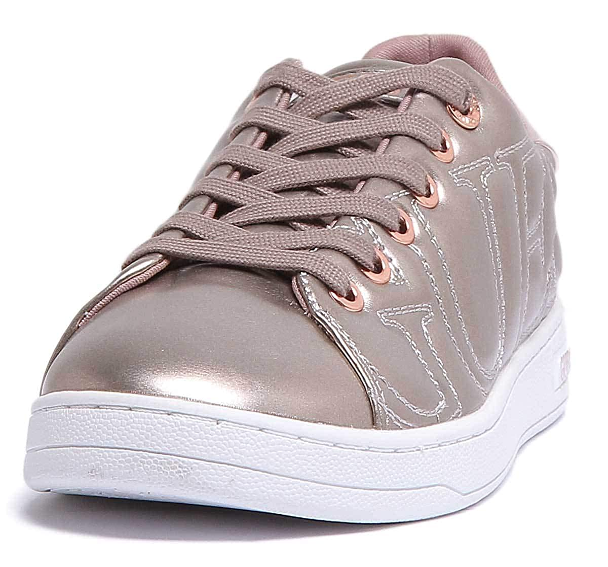 pink gold-a348 GUESS Cestin Trainers in pink gold