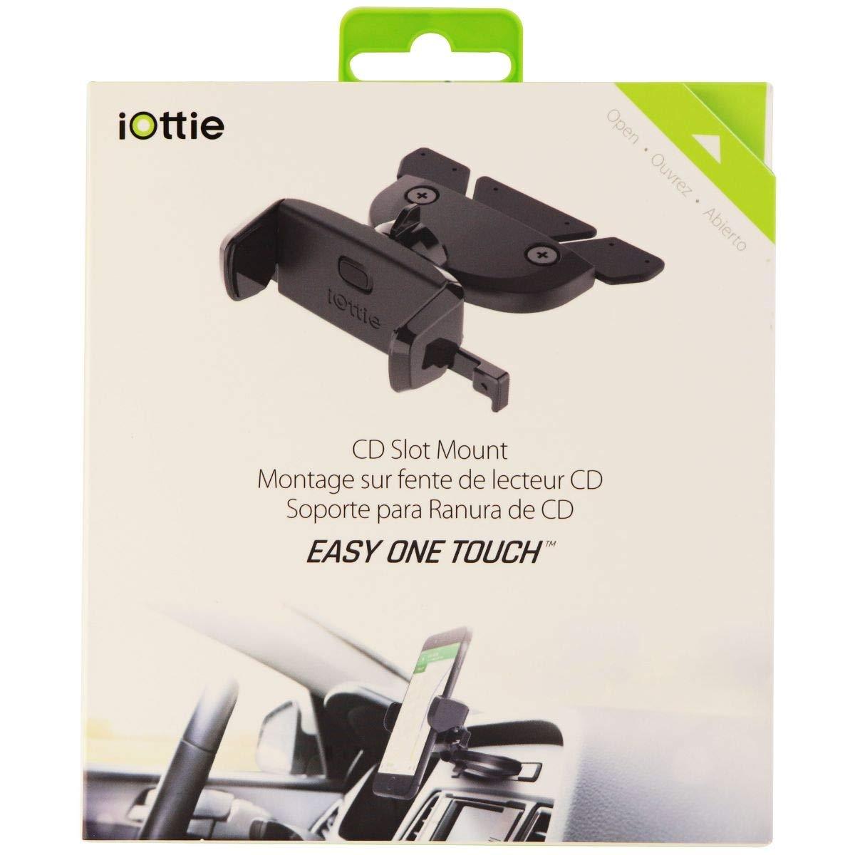 iOttie HLCRIO123RT Easy One Touch Mini CD Slot Universal Car Mount Holder