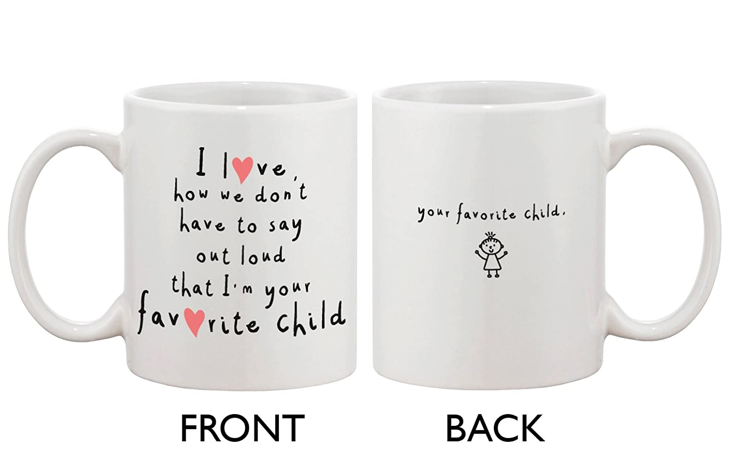 amazon com your favorite child coffee mug coffee cups u0026 mugs