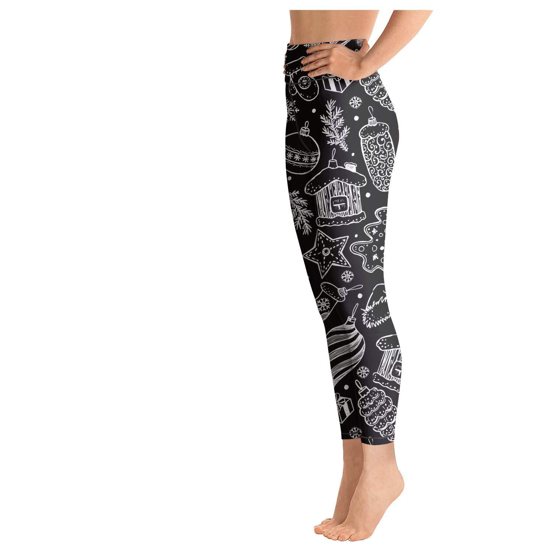 Amazon.com: Leggings para mujer, fondo negro, muñeco de ...