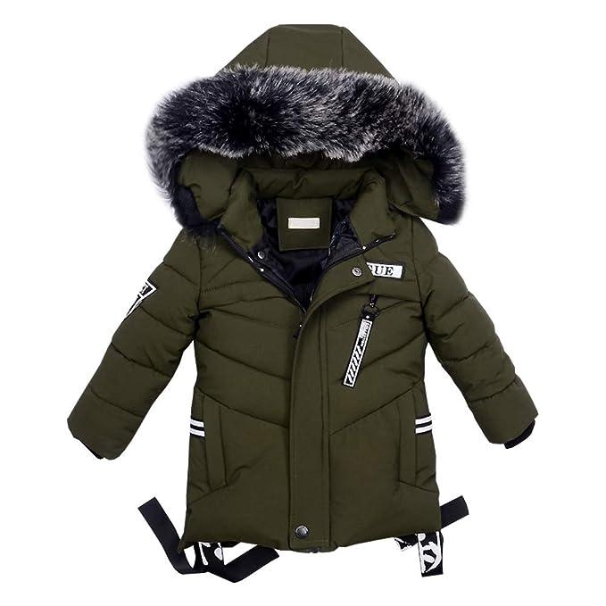 Junge Daunenjacke Lserver Dicken Mode Baumwollmantel Hochwertige Winter 2DWEY9IH