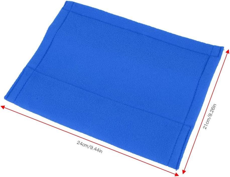Schultergurtpolster Zubeh/ör f/ür PKW Blau DEWIN 1 Paar Saets G/ürtelabdeckung