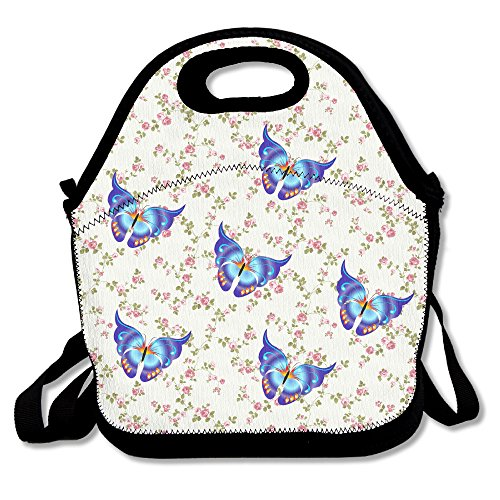 Oery Butterfly Group Cooler Lunch Bag Outdoor Picnic Bag (Alex Smith Halloween Costume)