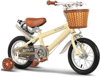 ZLI Bicicletas Infantiles Bicicleta Infantil Ajustable ...